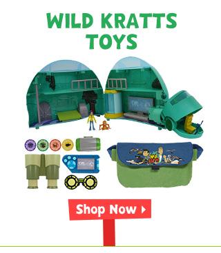 Wild Kratts Toys