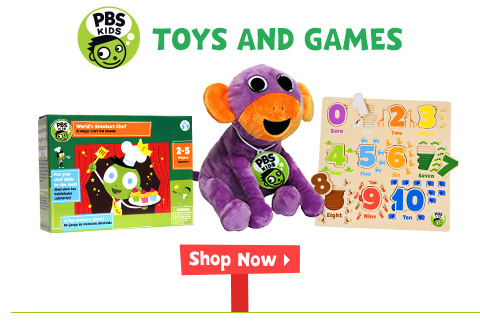 PBS KIDS Toys and Games